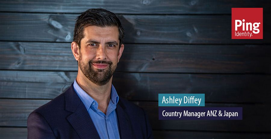 Ashley Diffey, Country Manager ANZ & Japan, Ping Identity