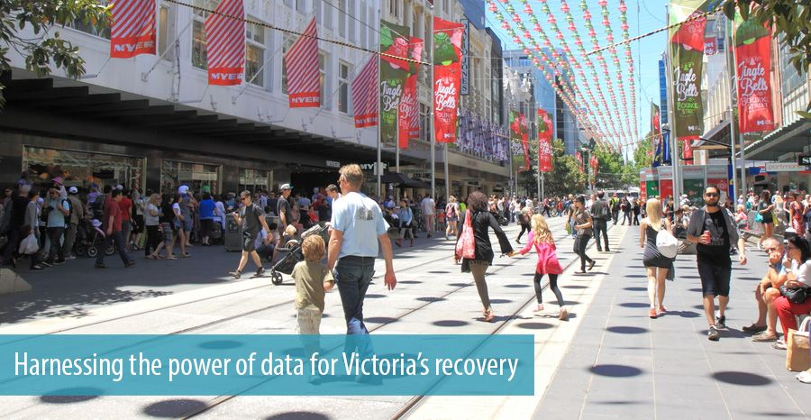 Harnessing the power of data for Victoria's recovery