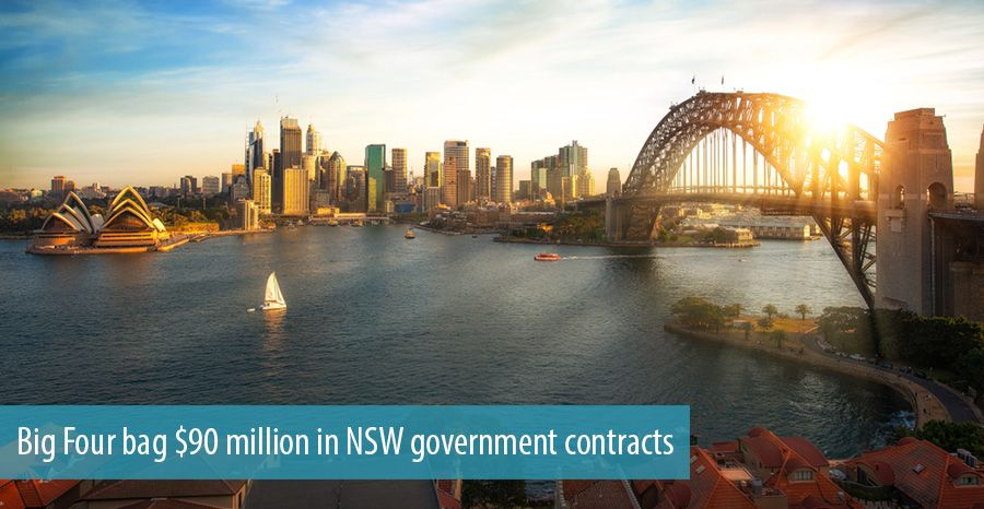 Big Four bag $90 million in NSW government contracts