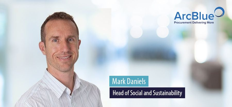 Mark Daniels, Head of Social and Sustainability, ArcBlue