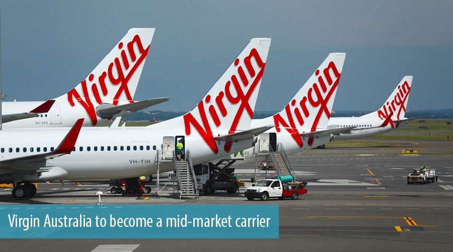 Virgin Australia to become a mid-market carrier