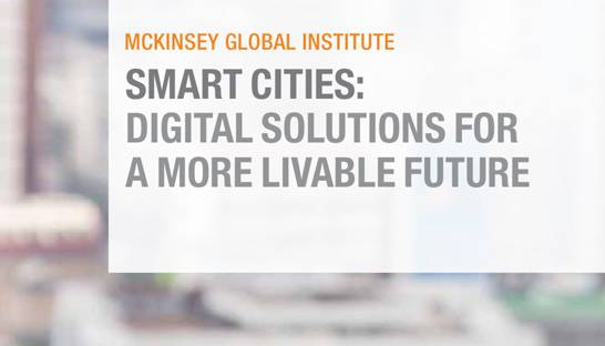 McKinsey global report shows social gains through smart city technology