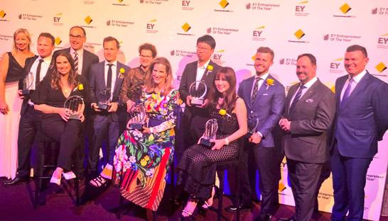 EY announces winners of Southern Region's Entrepreneur of the Year awards