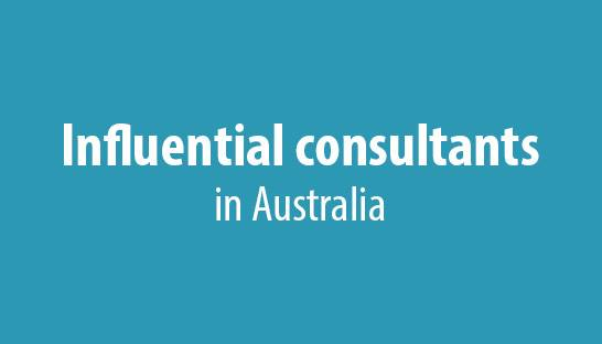 The most influential consultants in Australia revealed
