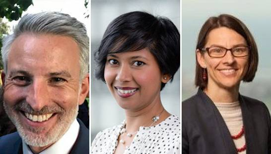 New BCG partners: Anita Oh, Ben Keneally and Gemma Henderson