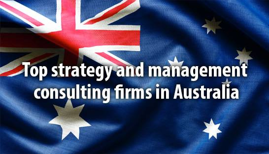 Top strategy and management consulting firms in Australia
