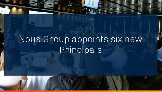 Nous Group promotes six senior advisors to Principal level