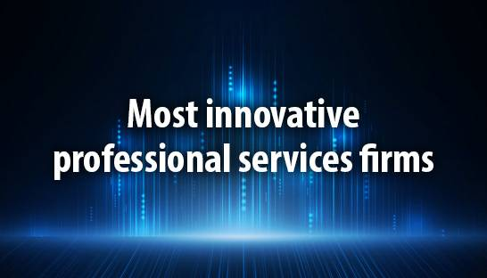 Australia's leading professional services firms in innovation
