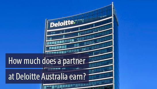 How much does a partner at Deloitte Australia earn?