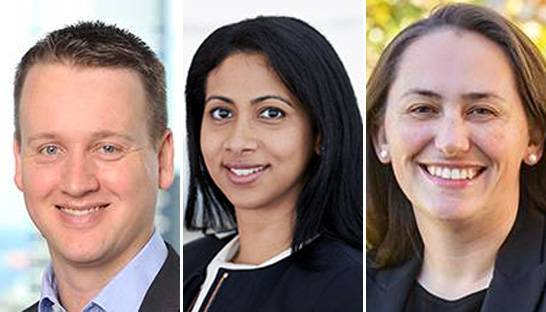 Emily Davis, David Chalmers and Natasha Santha new partners at L.E.K.