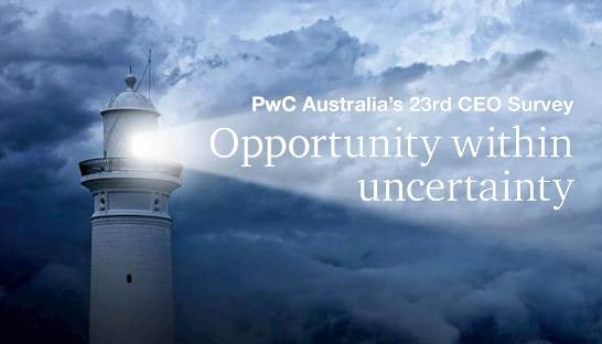 Optimism of Australian CEOs nosedives to record high