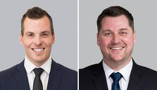 David Mutton and Mitchell Herrett partner at RSM