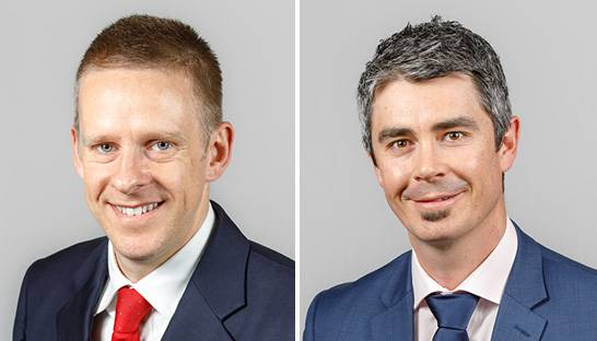 Willis Towers Watson promotes Andrew Povah and Nick Barrett