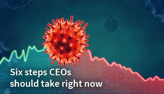 Coronavirus response: six steps CEOs should take right now