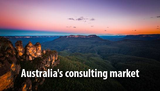 Australia's consulting market punching above its weight