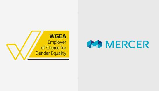 Mercer Australia named top employer for gender equality