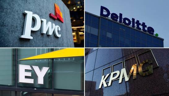 Covid-19 cost-cutting response of PwC, Deloitte, EY and KPMG