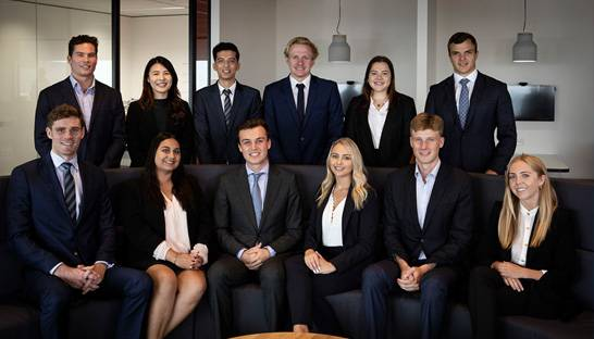 Twelve graduates join consulting program of Third Horizon