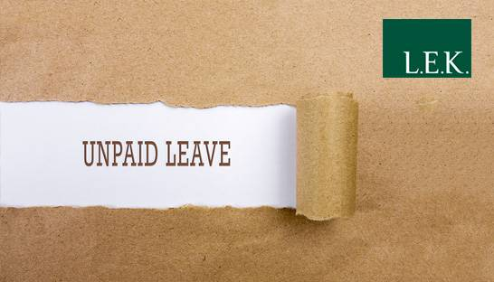 Strategy consulting firm asks staff to take unpaid leave