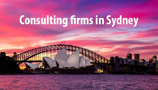 List of consulting firms in Sydney, Australia