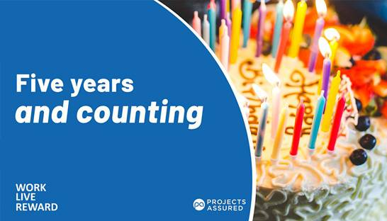 Consultancy Projects Assured celebrates five years in business