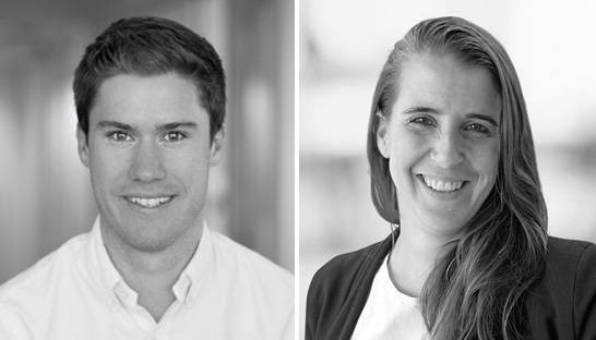 Bain promotes Liam Connolly and Nadja Kendlbacher to partner