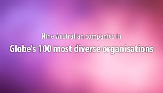Nine Australian companies in globe's 100 most diverse organisations