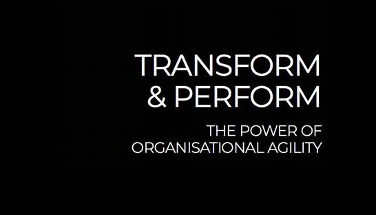 Why agile operating model transformation can make a difference