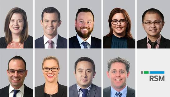 RSM promotes nine to principal across its Australian offices