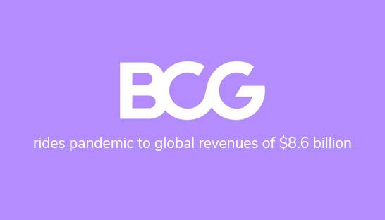 BCG rides pandemic to global revenues of $8.6 billion
