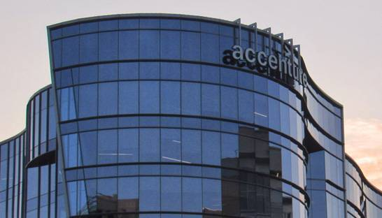 Accenture gives all employees below managing director a bonus