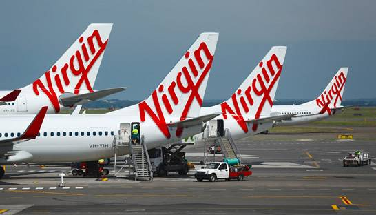 Virgin Australia CEO Jayne Hrdlicka flies in former employer Bain