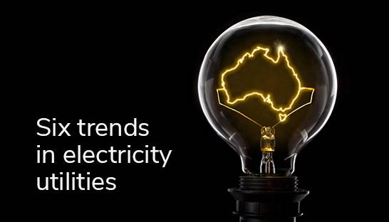 Six trends sweeping through Australia's electricity utilities market