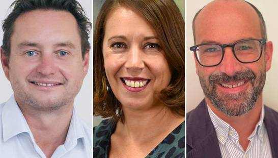 PwC welcomes Ben Fielding, Laura Chisholm and Garth Williams
