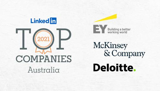 LinkedIn names EY, McKinsey and Deloitte top ANZ employers