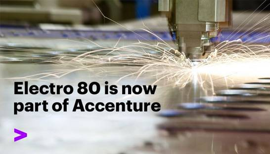 Accenture bolsters Industry X's resources team with Electro 80